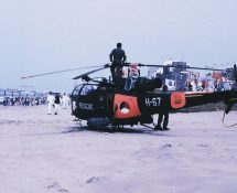 H-67 at Scheveningen Beach in 1989 (HE)