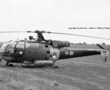 H-81 at Bierset in 1969 (HE)