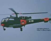 H-81 at Soesterberg in 1972 (HE)