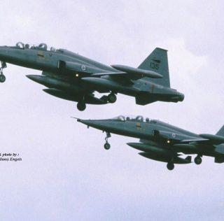 Spotting at RAF Fairford , U.K. July 1987 (International Air Tattoo)(revised & replaced)