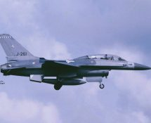 F-16B K.Lu. 322 sq. (HE)