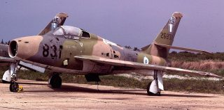 F-84F of the Greek/Hellenic Air Force