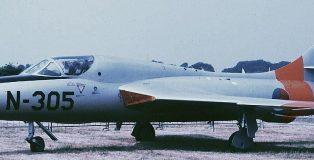 N-305(preserved) at Deelen in 1988 (HE)