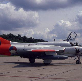 KLu : Hawker Hunter T.7