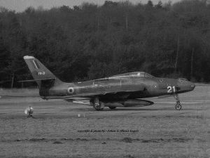 (1970)5 RF-84F(2) Thunderflash FR-21 Belg.LM Soesterberg 10-3-1970 J.A.Engels agfa 38-39 -79