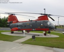 Boeing HH-46D is disp[layed at Havelock, May 2012 (FK)