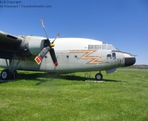 C-119 Packet displayed at Geneseo airport, New York, in May 2012 (FK)21