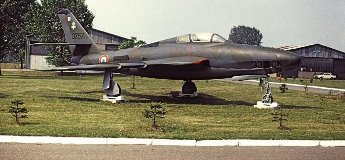 RF-84Fs of France (Armee de l'Air)