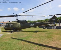 Bell UH-1M 66-15005 is preserved at Patriots Point, Charleston (SC) in May 2012 (FK)
