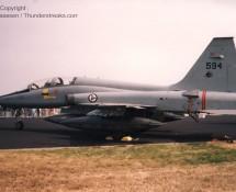 F-5B of 336 Skv RNorwAF (FK)