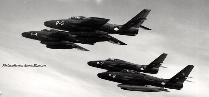 RF-84Fs of the Royal Netherlands Air Force (KLu)