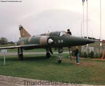 Belgian Mirage BA-26 alongside highway E-311 in April 1995 (FK)