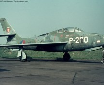 P-200 was placed as a decoy at Eindhoven in 1972 (FK)