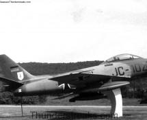 Sabre JC-102 was a gate-guard at Pferdsfeld in 1970