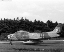 Sabre JC-240 was displayed at the Budel army camp (NL)