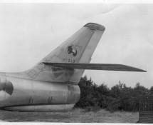 P-213 on a KLu photo, showing its Volkel 311 squadron emblen (photo coll. FK)