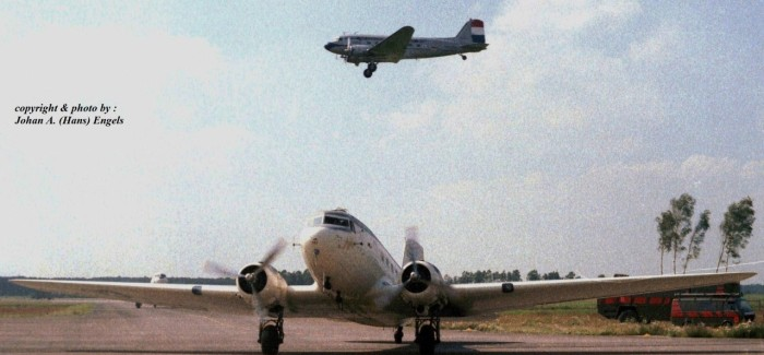 Eindhoven Airport (NL) 50 Years Golden DC-3 Jubilee Airshow, July 6th, 1985