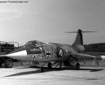 F-104G Starfighter Luftwaffe