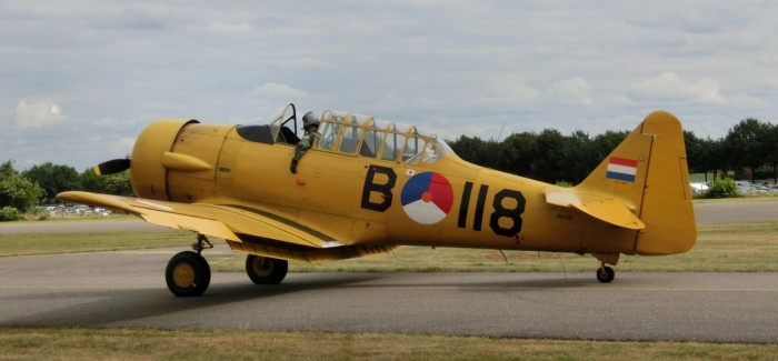 Warbirds at Seppe Airshow (NL), August 2012