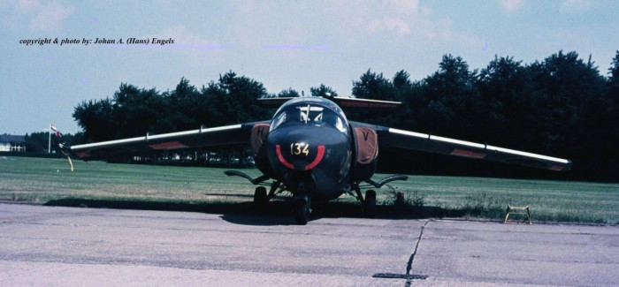 Base visit Eindhoven AB (NL), June 10th, 1970 (Swedish SAAB 105's)