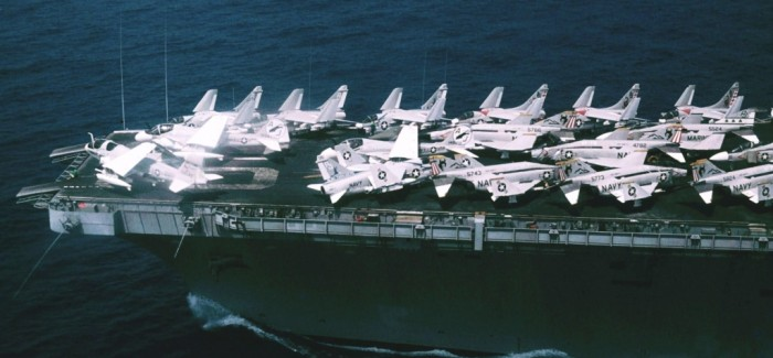 Aircraft-Carrier Visit USS Nimitz, August 16 – 17, 1976