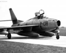 P-138 F-84f thunderstreak KLu