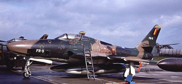 RF-84Fs of the Belgian Air Force