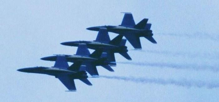 U.S.Navy Demoteam The Blue Angels , Leeuwarden AB (NL), June 2006