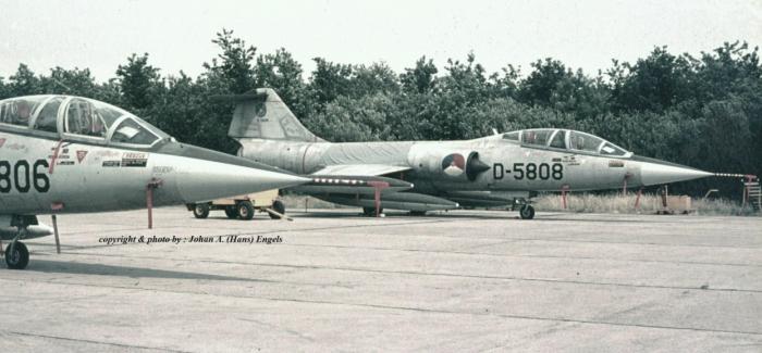 KLu : Lockheed TF-104G