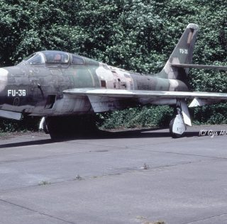 Belgian Thunderstreaks: Aircraft w.f.u.