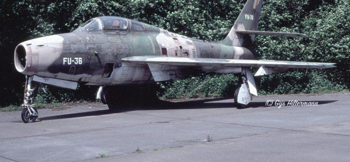 Belgian Thunderstreaks: Aircraft w.f.u.