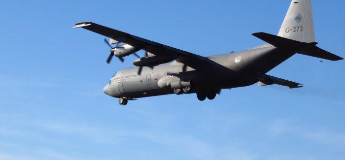 Klu aircraft : C-130 Hercules