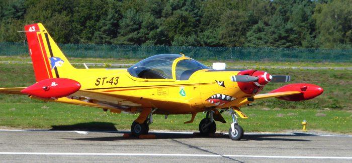 BAF trainers: Siai SF260M/D
