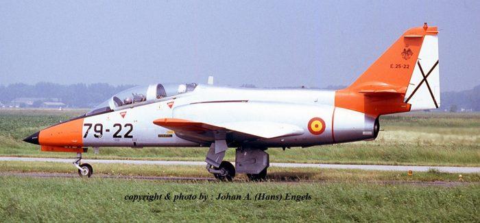 Koksijde Air Base , Belgium, July 5th , 1991 (Arrivals for Open Days)